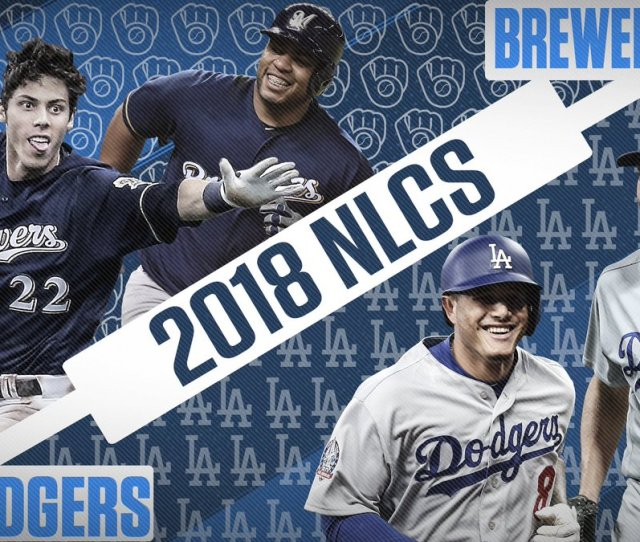 Fox Sports Mlb On Twitter Its On Dodgers Vs Brewers For A Chance To Go To The World Series Who Ya Got