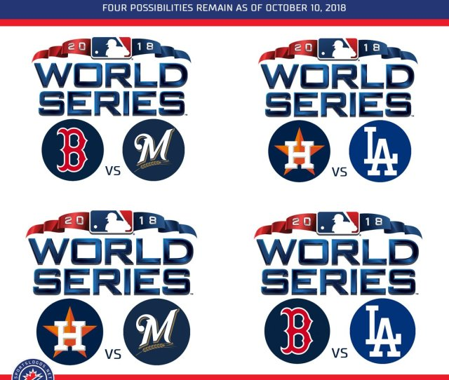 Vs Brewers Astros Vs Dodgers Brewers Vs Astros Dodgers Vs Red Sox Post News Sportslogos Net  Every Possible  World Series Matchup