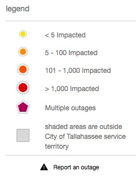City Of Tallahassee Outage Map : tallahassee, outage, Tallahassee, Power, Outage, Location, Catalog, Online