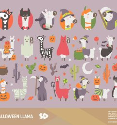 halloween llama clipart https www etsy com listing 635896636 halloween llama clipart cactus clip art ref shop home active 1  [ 1200 x 997 Pixel ]