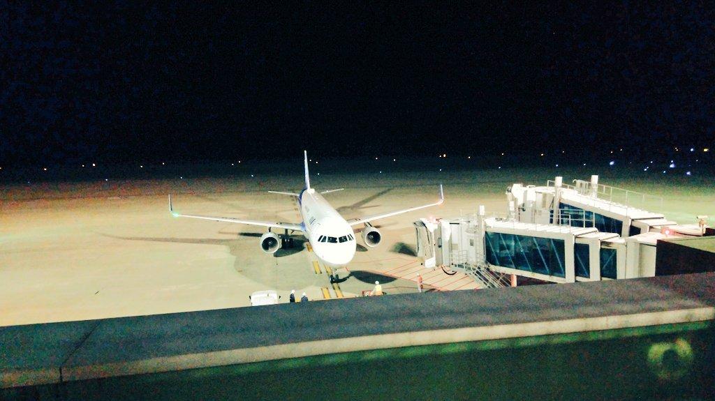 test ツイッターメディア - 夜の秋田空港へ。 パパのお迎えです🎵 https://t.co/PS3TCIPTiB