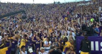 You Can't Stop LSU Students From Their 'Suck That Tiger D**k B*tch'