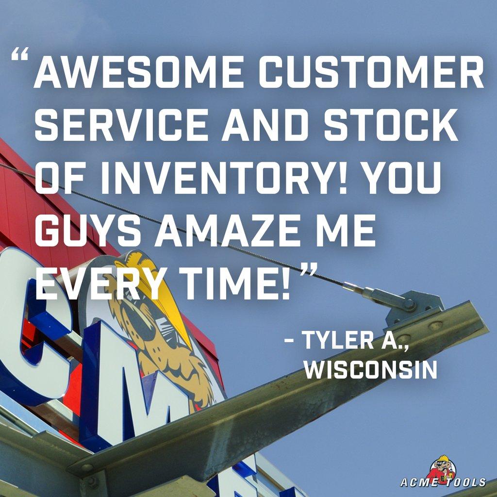 Acme Tools Customer Service