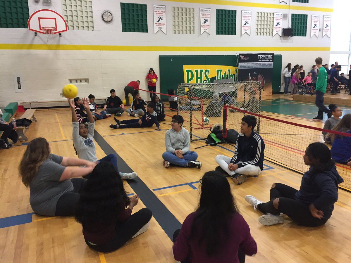 wheelchair volleyball foldable floor chair singapore lincoln alexander ps on twitter our gr 8 ss participated in they basketball sitting and boccia had a paramazing morning thanks durhamregion19 for having