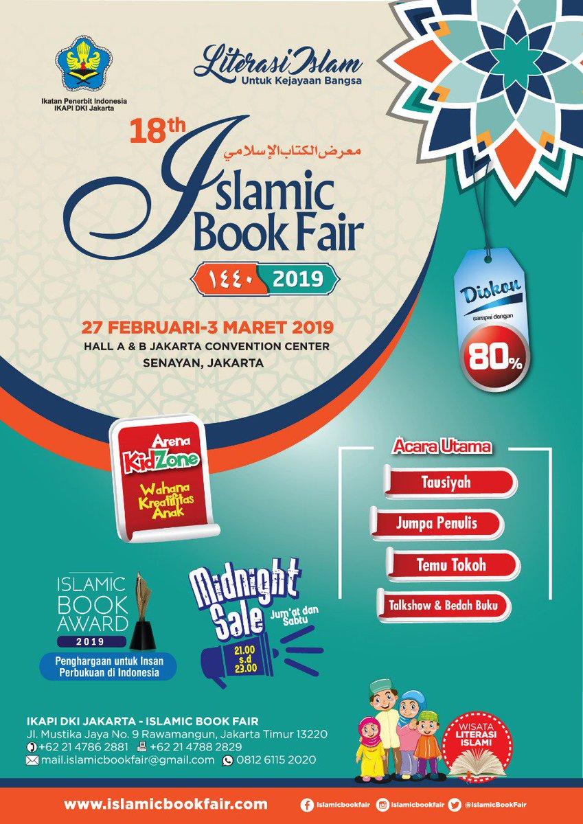 Islamic Book Fair 2018 Jakarta : islamic, jakarta, Serangkai, Pustaka, Mandiri, Twitter:,