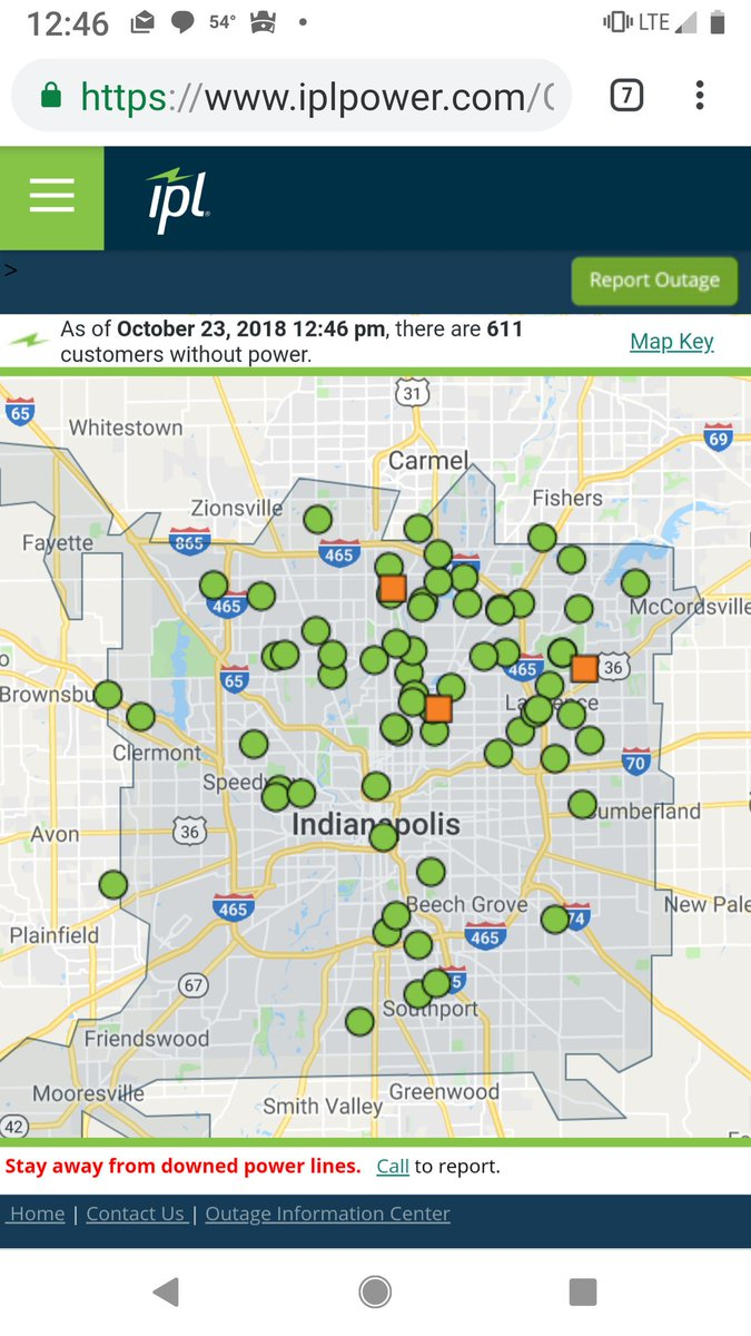 Ipl Outage Map Indianapolis : outage, indianapolis, Power, Outage, Indianapolis