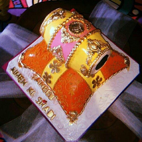 Image result for aiman khan dholki cake