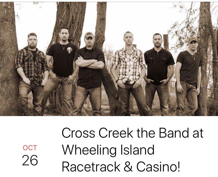 crosscreek the band on