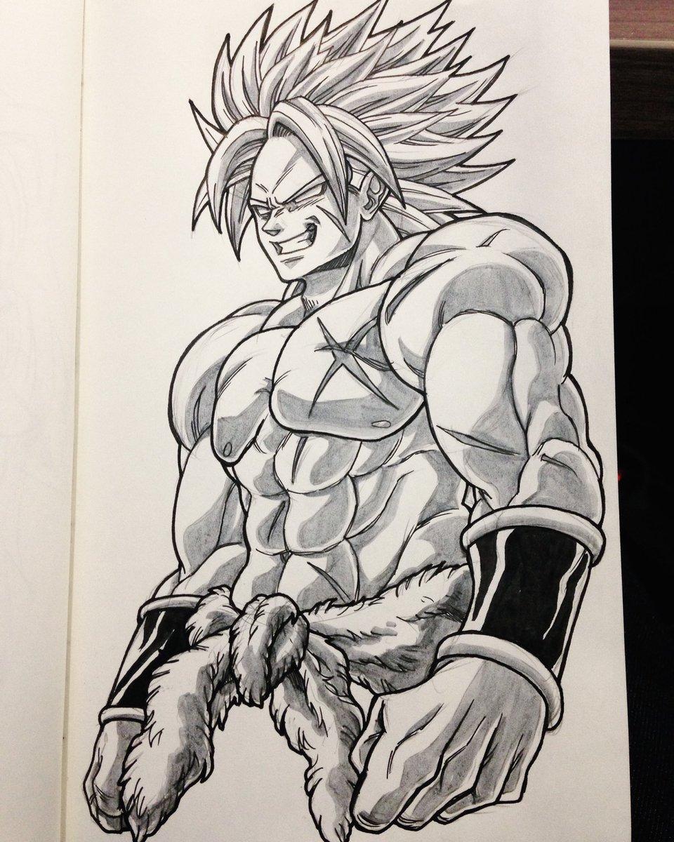 Broly Sketch : broly, sketch, Twitter:,