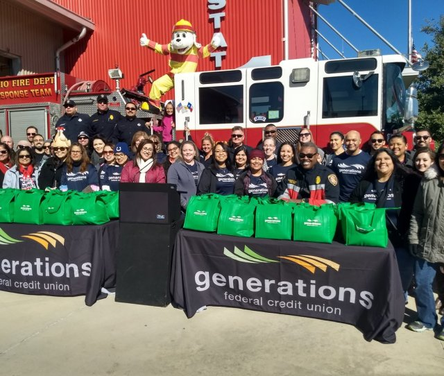 Generationsfcu Thanks For Once Again Providing All Our Fire Stations Thanksgiving Turkeys