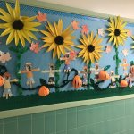 Mrs Granito On Twitter Our Fall Bulletin Board Transitions Into November Bulletinboards