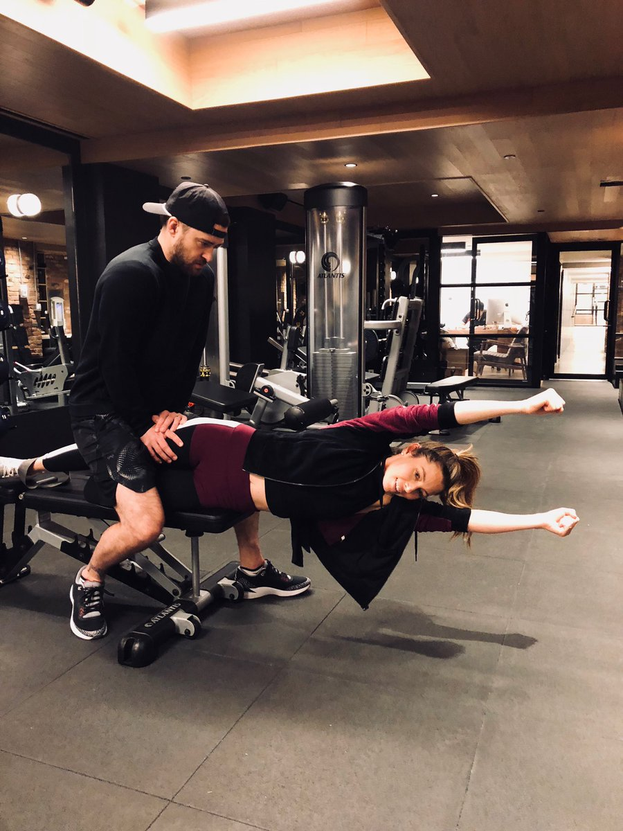 chair exercise justin timberlake office task jessica biel jessicabiel twitter and gaiam