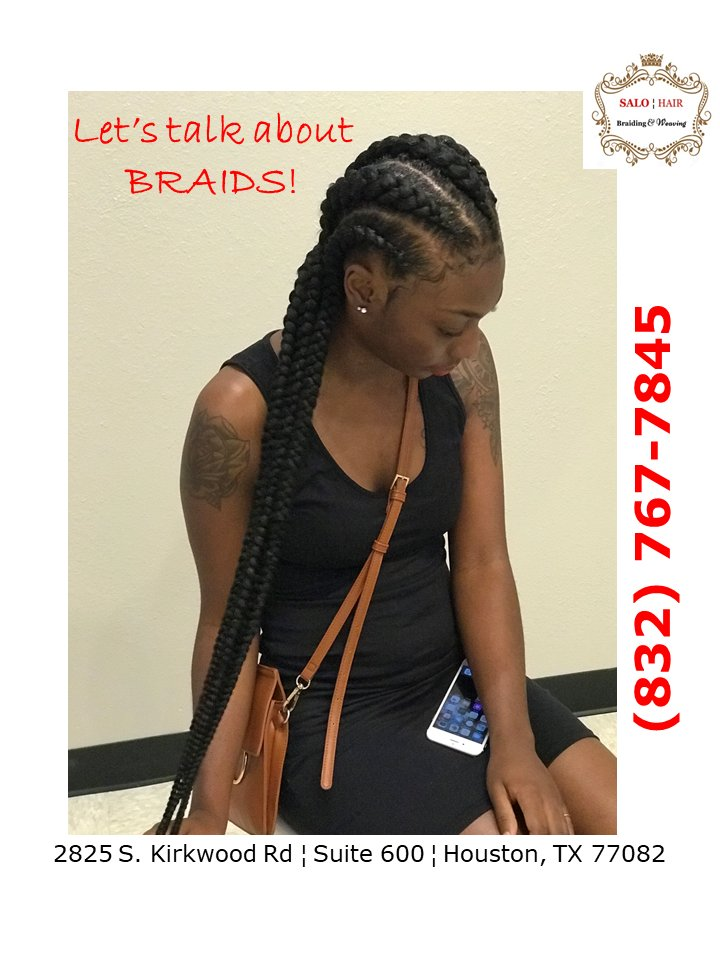 Salo Hair Braiding On Twitter Let S Talk About Braids Call Us