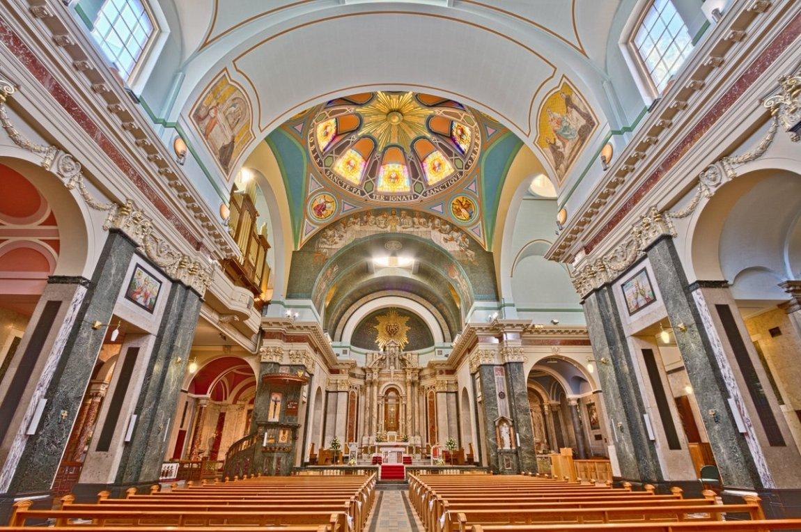 Iglesia jesuite de St Aloysius Glasgow