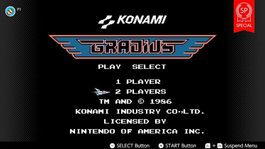 Gradius SP – Stage 5 and maxed out!