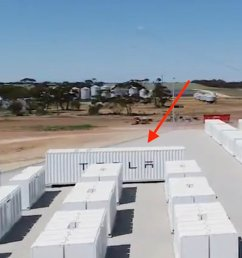 first tesla megapack sighting or just a container housing some equipment  [ 1200 x 872 Pixel ]