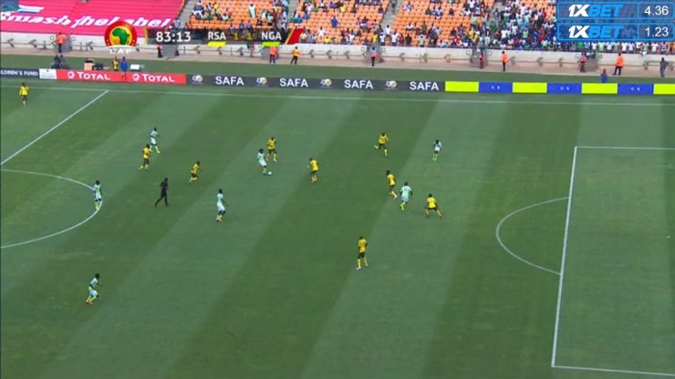 South Africa 1-1 Nigeria: Super Eagles Qualify For Nations Cup