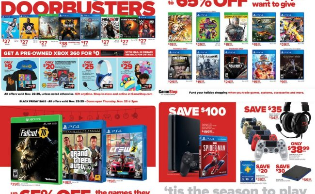 November 23 26 2018 Black Friday And Cyber Monday Deals