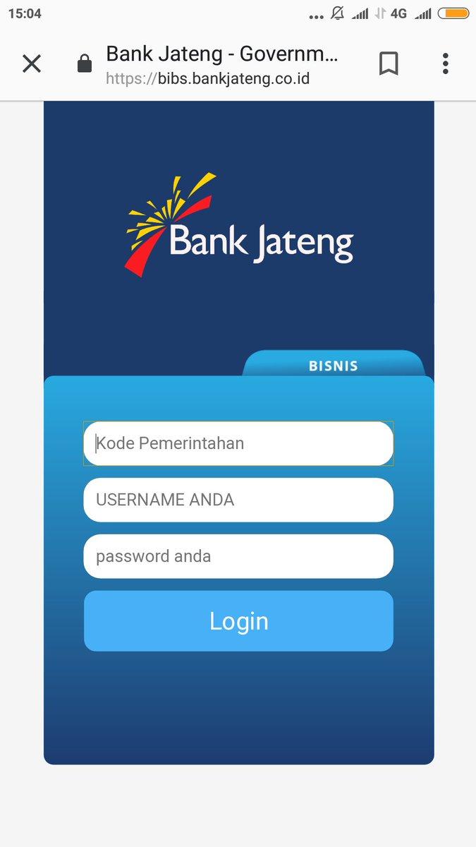 Internet Banking Bank Jateng : internet, banking, jateng, JATENG, Twitter:,