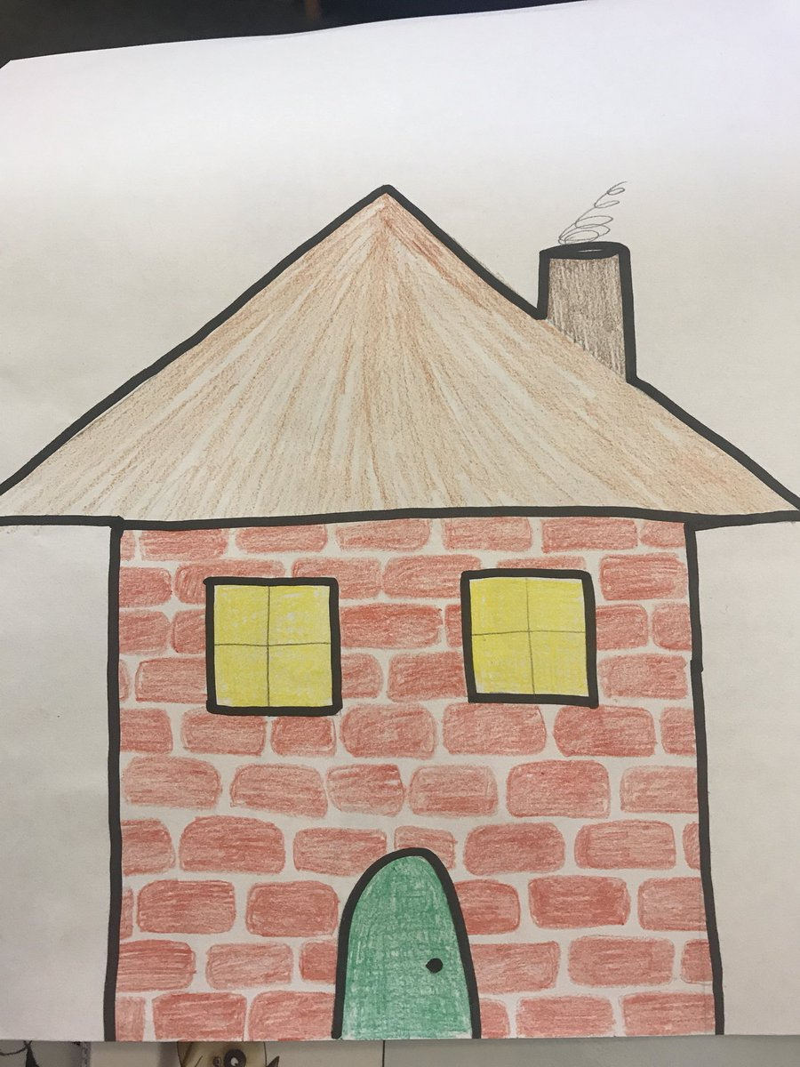 """How To Draw A Dream House : dream, house, Gabriella, Twitter:, """"Today, Their, Dream, House., Meanwhile,, Drawing, Something, Else., Asked,, 'What?!"""