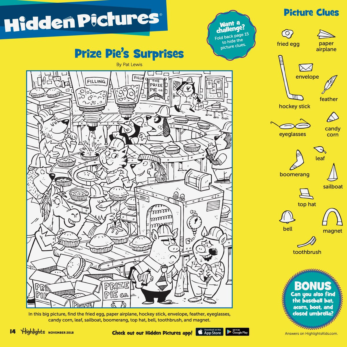 Highlights Kids Com Hidden Pictures Answers
