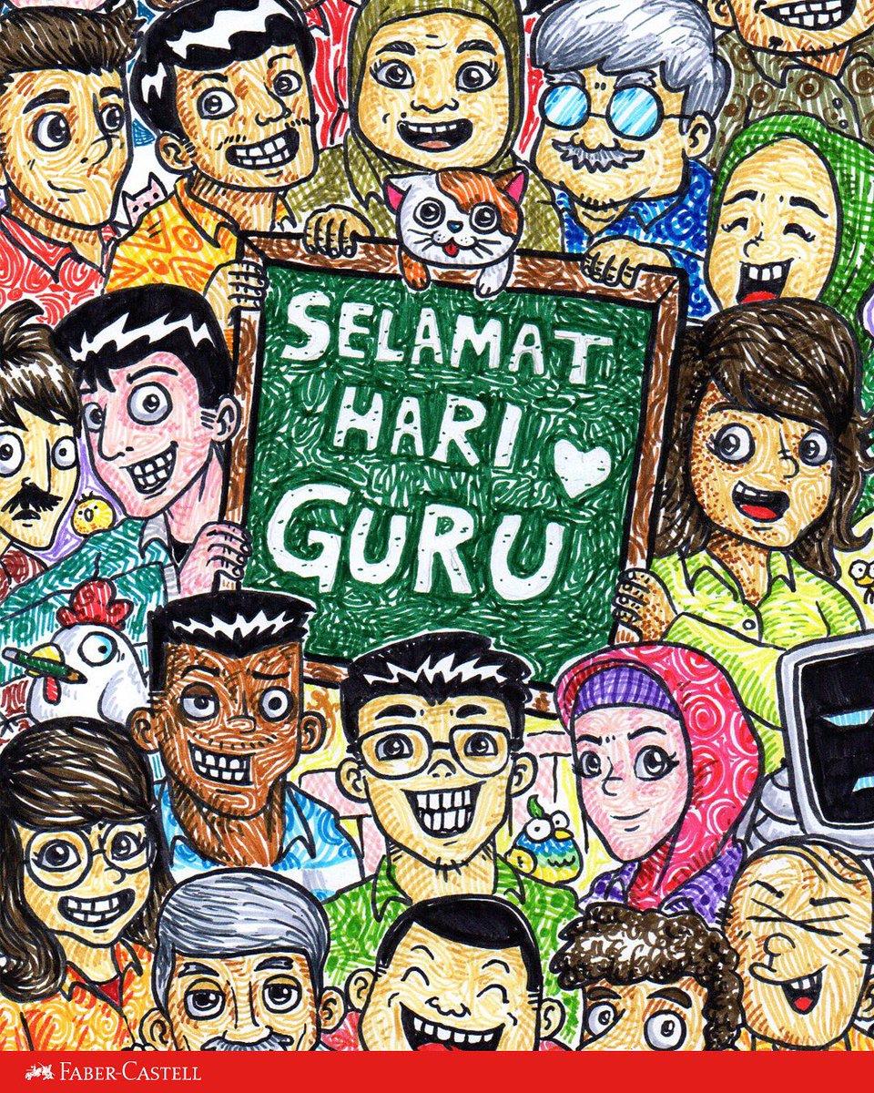 Poster Hari Guru Nasional : poster, nasional, R1zq0n, Twitter:,