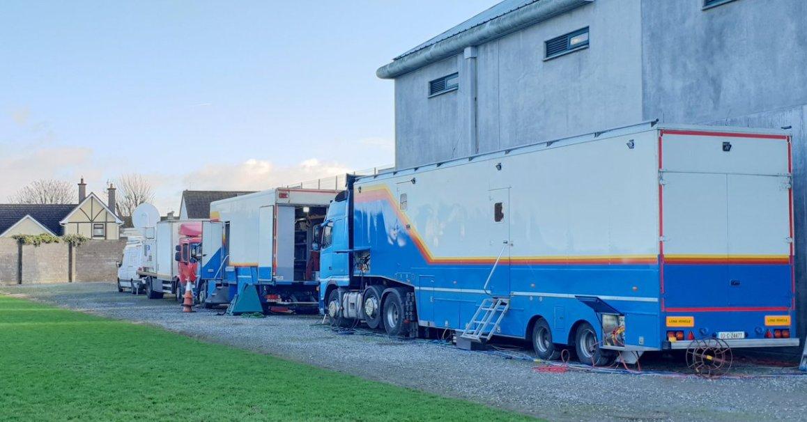 test Twitter Media - It's Leinster Senior Football Club Final at O Connor Park Tullamore.  @KCrokesGAAClub take on Sf Columba's. Throw in 13.30. Watch live now on @GAA_BEO @SportTG4 @nemetontv https://t.co/AAMcEqLjco