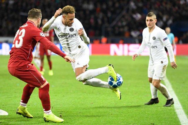 باريس سان جيرمان يسقط ضيفه ليفربول بفوز ثمين 27