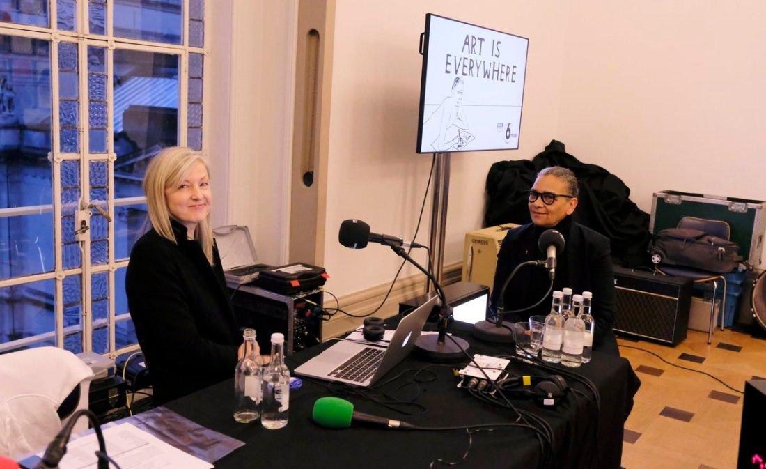 MaryAnn Hobbs interviews Lubaina Himid