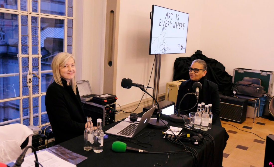 MaryAnn Hobbs interviews Lubaina Himid
