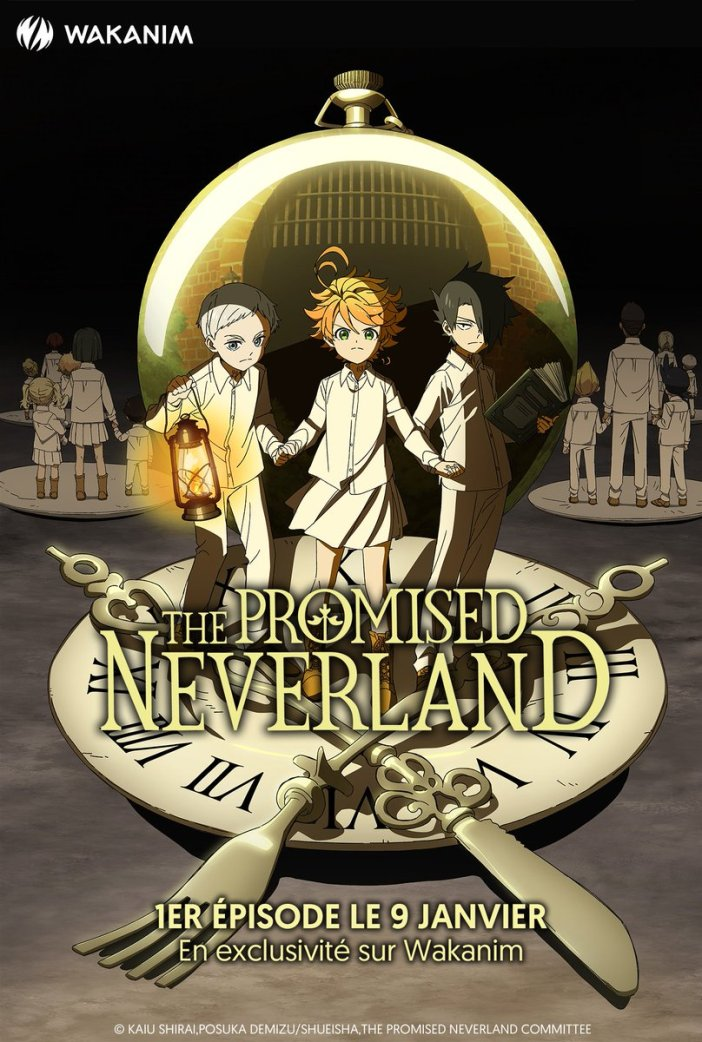 Nouvelle illustration de The Promised Neverland