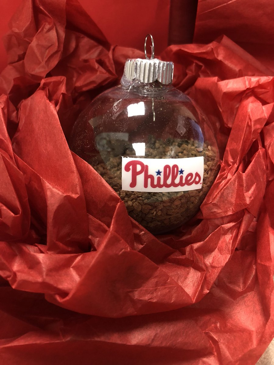 Phillies Christmas Ornaments