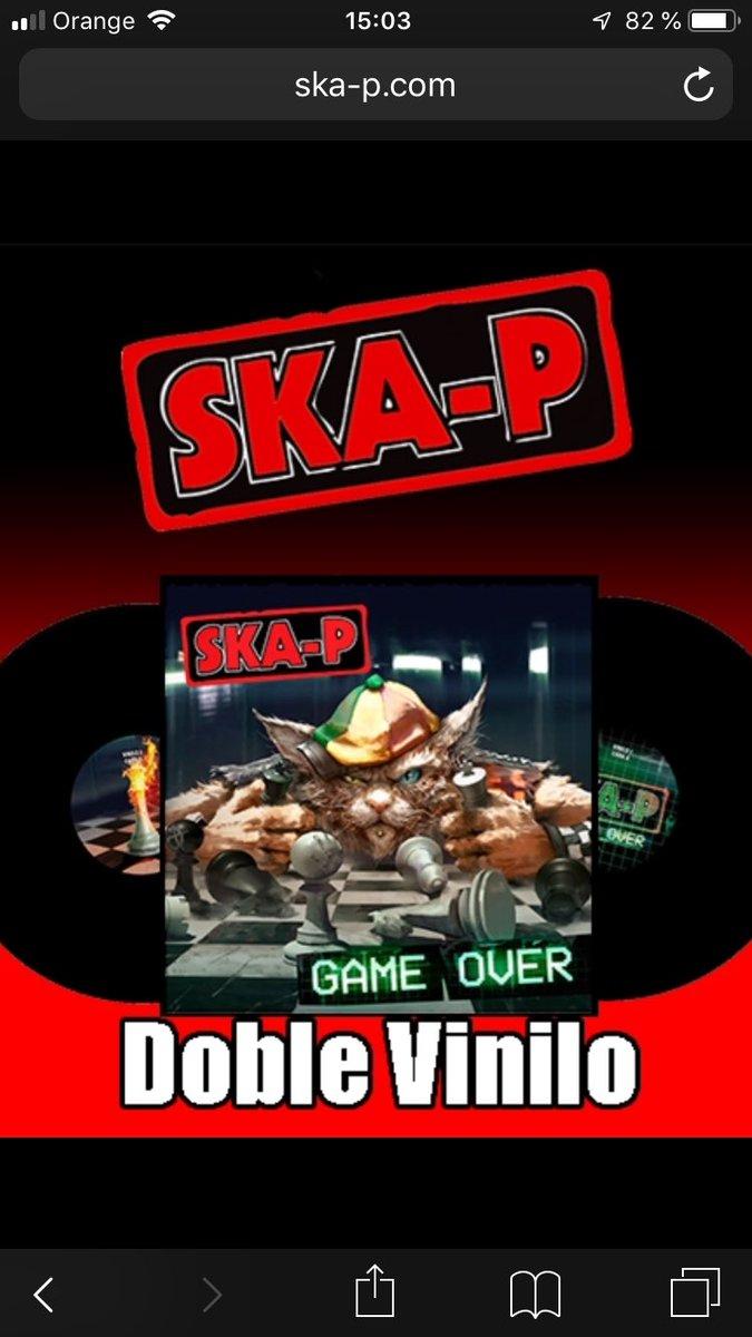 Ska-p Game Over : ska-p, Ska-p, Twitter:,
