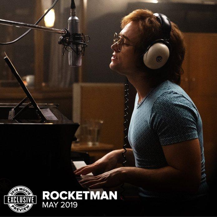 DvYjuywUwAIXaLa Rocketman   Liberada nova imagem da cinebiografia de Elton John