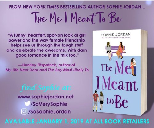 the me i meant to be promotional poster