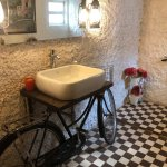Soni Mahdi Aggarwal On Twitter Rustic Innovation On A Budget Restaurant Bathroom At Saligao Stories The Tiles Are Over 100 Years Old