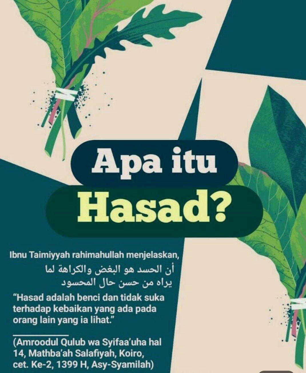 Pengertian Hasad : pengertian, hasad, Candra, Twitter:,