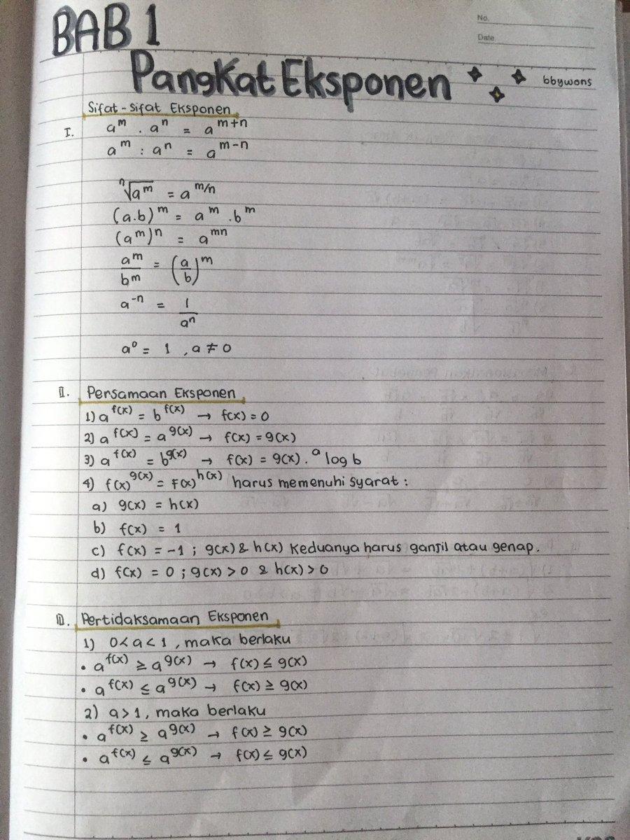 Materi Matematika Kelas 10 Semester 1 : materi, matematika, kelas, semester, Peteeeee, Twitter:,