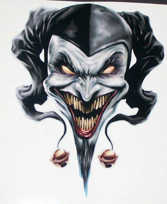 Jester Tattoo Design : jester, tattoo, design, Tattoo, Design, Joker