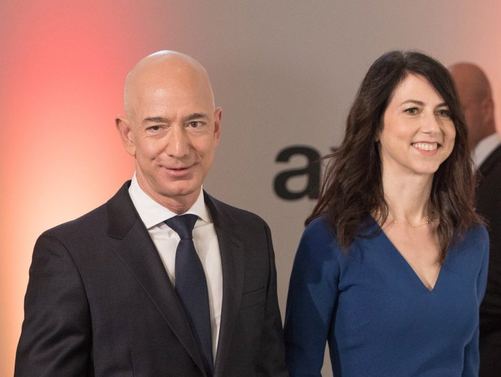 Image result for Divorce 25 years after the CEO of the world's wealthy Amazon
