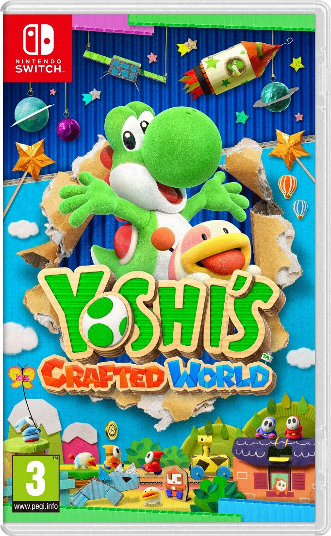 Yoshi's Crafted World release