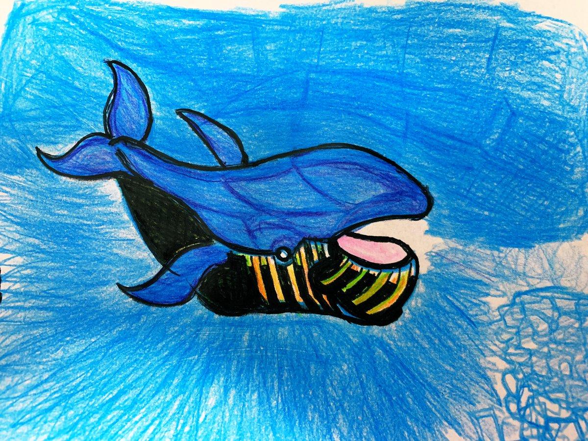 test ツイッターメディア - 勉強しようと思ったけど右手にあった筆は青色鉛筆を持っててなんかのサーサーと線を引いてたら鯨ができた。  左 ナンキョククジラ系 右 ザトウクジラ系 亀五郎の野宿の勧め みてたらクリエイティブ意識高くなって青い線がめっちゃ増えて曲線とか増えちゃったり。 https://t.co/OmWTJPEU0b