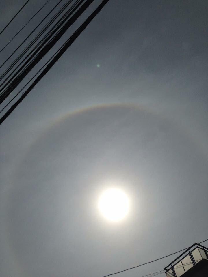 test ツイッターメディア - 今日の動画も凄かった😆 STスタジオの都市伝説ホントに好き︎︎︎︎︎☺︎  てか、4年前だけどこれも暈でいいのかな🤔 太陽の周りに虹出てる!って思って撮ったんだけど... @tabo___ST  @nori___ST  @segi___ST  @daiki__ST  @kyohei__ST  @tatsuki___ST  @ribon___ST https://t.co/ozx0sgcXGU