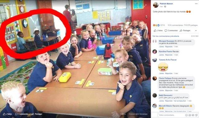 Afrique du Sud: Une photo de classe où enfants blancs et noirs sont séparés divise le pays