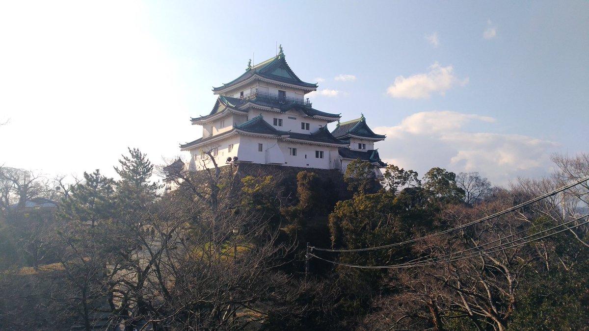 test ツイッターメディア - 和歌山城なう。 https://t.co/AExYOXQjMO