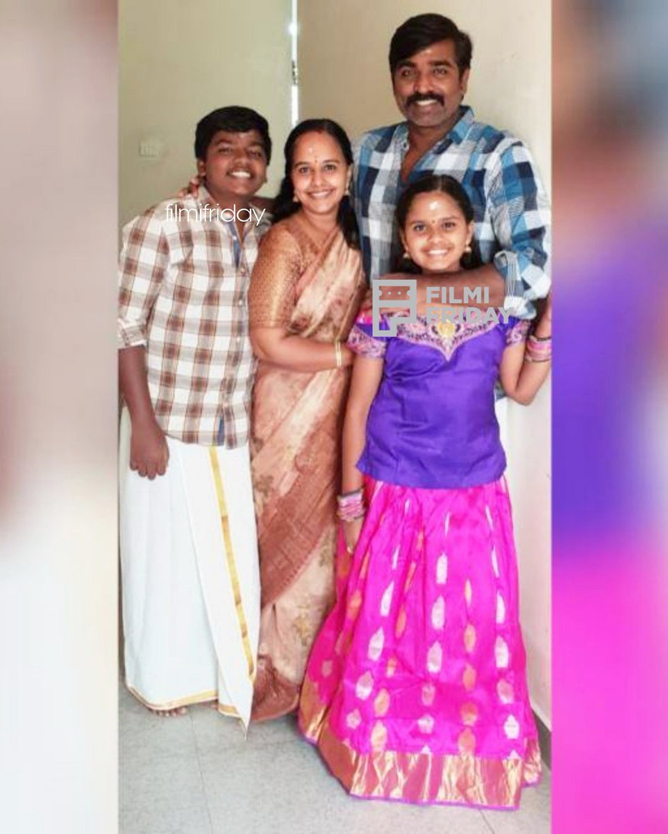 Vijaysethupathi Family : vijaysethupathi, family, FilmiFriday, Twitter:, #Vijaysethupathi, Family, Click, #HappyBirthdayVijaysethupathi, #HBDMakkalSelvan, #HBDVijaysethupathi, @VJSethupathi…