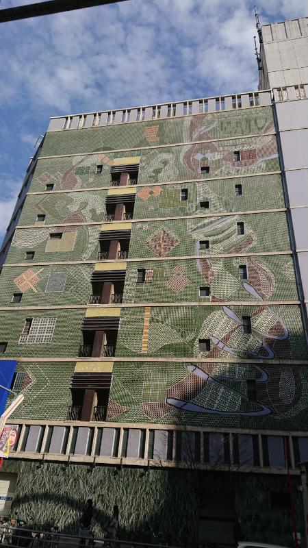 test ツイッターメディア - 間もなくこの場所から消える丸栄百貨店のタイル壁面。 https://t.co/se0AU8mJgI