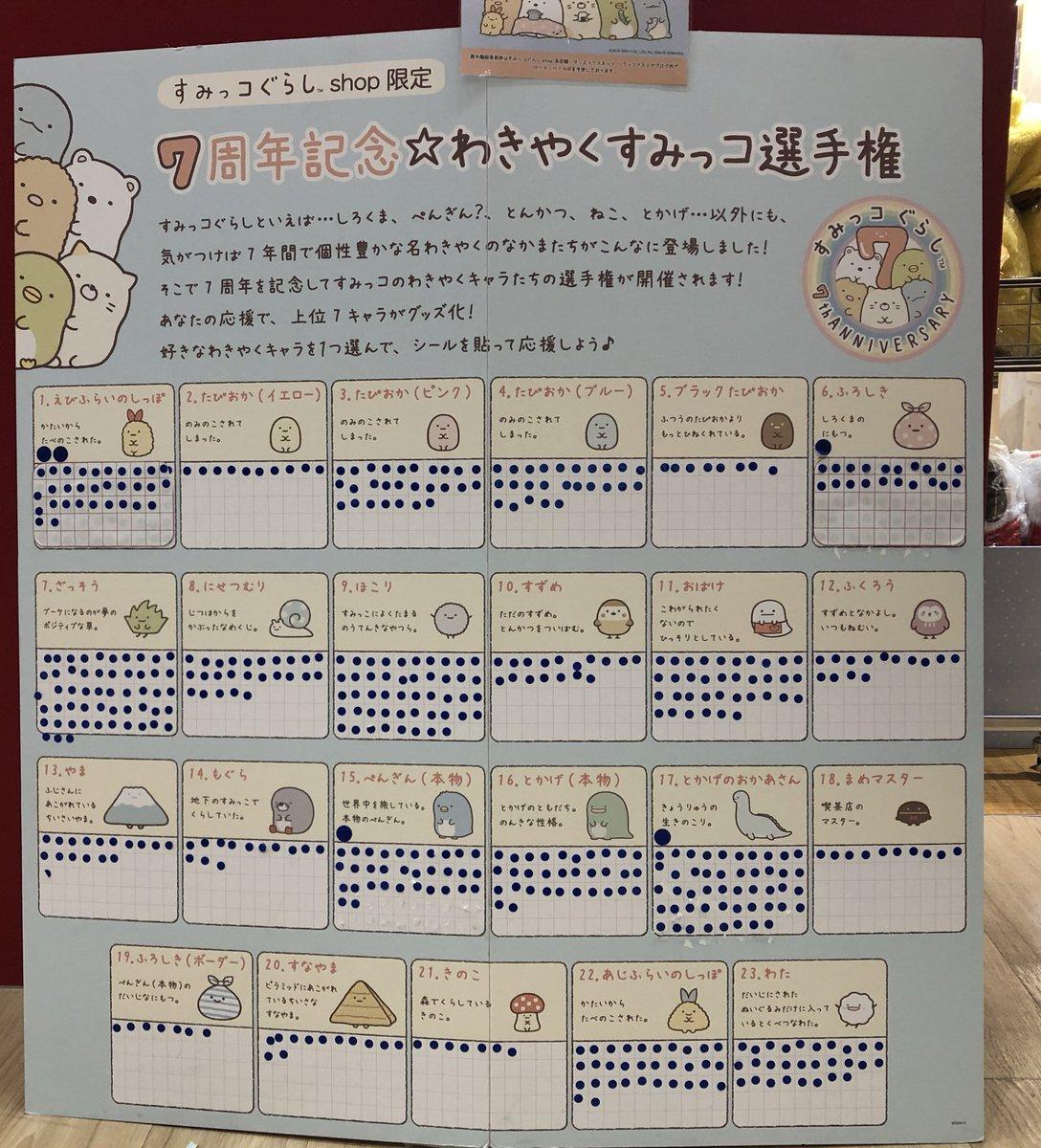 #わきやくすみっコ選手権 hashtag on Twitter
