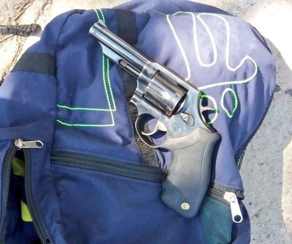 (VIDEO) Intervención policial evita que tres pandilleros asaltaran camión repartidor de gaseosas