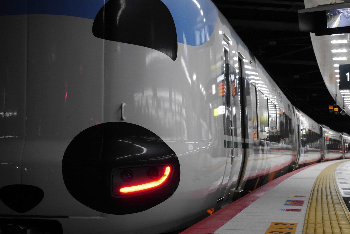 test ツイッターメディア - 🐼パンダくろしお🐼 2019.1/21(月)運転予定  1月19日、阪和線内でお客様と接触した影響により、車両の一部に不具合が発生しております。その為、しばらくの間パンダくろしおの運行を取り止めさせて頂きます。ご迷惑をおかけ致します。  #パンダくろしお https://t.co/7ezV6Ii9XG